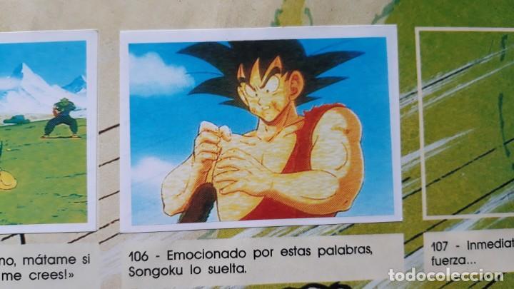 PANINI DRAGON BALL Z PRIMER ALBUM 1 CROMO RECUPERADO NUMERO 106 (Coleccionismo - Cromos y Álbumes - Cromos Antiguos)