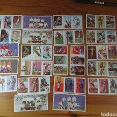 Coleccionismo Cromos antiguos: LOTE 23 CROMOS TRIPLES OLIMPIADAS TOKYO 1964? EDITORIAL RUIZ ROMERO. Lote 165774169
