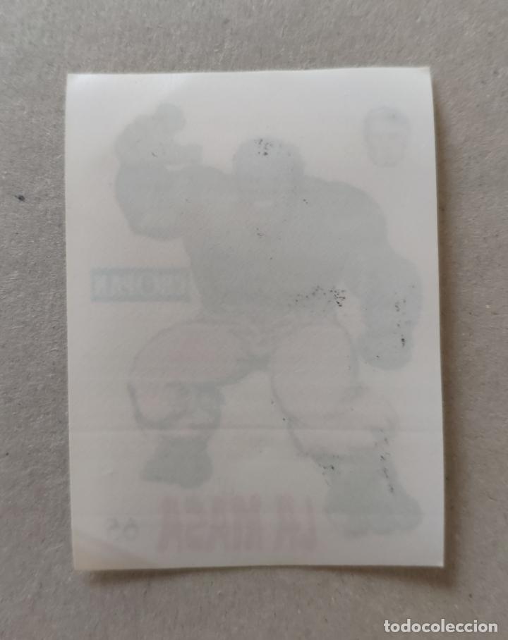 Coleccionismo Cromos antiguos: ALBUM DESCUBRE A TUS HEROES FANTASTICOS, CROMO N° 65: LA MASA - LOPEZ ESPI (CROPAN 1975) - Foto 2 - 166272542