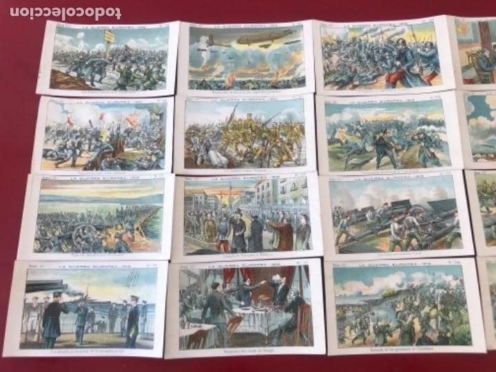 Coleccionismo Cromos antiguos: CROMOS LA GUERRA EUROPEA 1916 SERIE 12 COMPLETA CHOCOLATES AMATLLER. - Foto 2 - 166398374