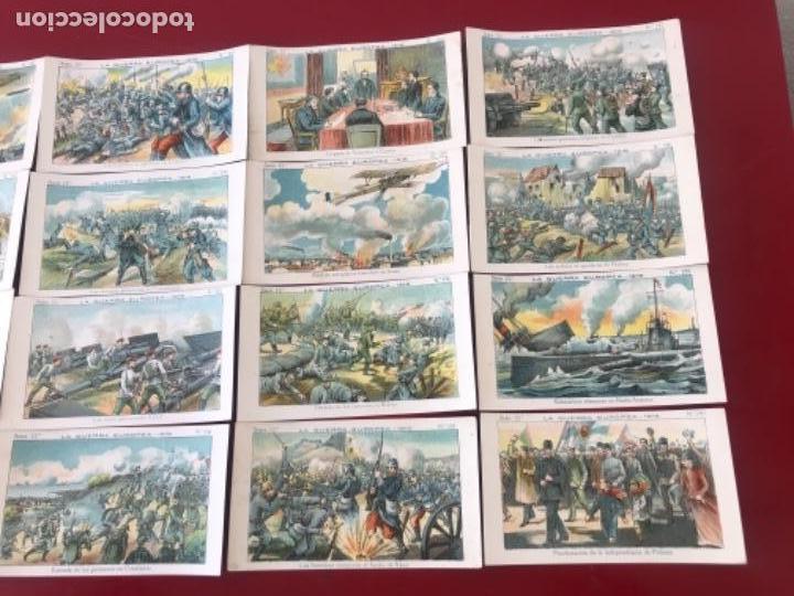 Coleccionismo Cromos antiguos: CROMOS LA GUERRA EUROPEA 1916 SERIE 12 COMPLETA CHOCOLATES AMATLLER. - Foto 3 - 166398374