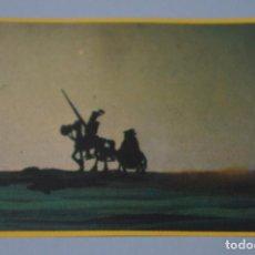 Coleccionismo Cromos antiguos: CROMO DE DON QUIJOTE DE LA MANCHA SIN PEGAR Nº 14 AÑO 1979 DEL ALBUM DON QUIJOTE...... DE DANONE. Lote 245956480