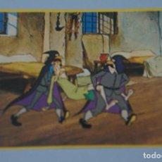 Coleccionismo Cromos antiguos: CROMO DE DON QUIJOTE DE LA MANCHA SIN PEGAR Nº 84 AÑO 1979 DEL ALBUM DON QUIJOTE...... DE DANONE. Lote 166728474