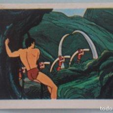 Coleccionismo Cromos antiguos: CROMO DE TARZAN DESPEGADO Nº 111 AÑO 1979 DEL ÁLBUM TARZAN DE FHER. Lote 166730874