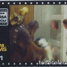 Coleccionismo Cromos antiguos: MINI FILM Nº 31 - TRILOGÍA LA GUERRA DE LAS GALAXIAS - STAR WARS TRILOGY - MATUTANO. Lote 166791998