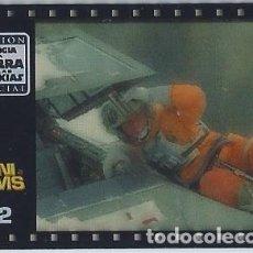 Coleccionismo Cromos antiguos: MINI FILM Nº 22 - TRILOGÍA LA GUERRA DE LAS GALAXIAS - STAR WARS TRILOGY - MATUTANO. Lote 166792074