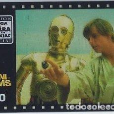Coleccionismo Cromos antiguos: MINI FILM Nº 10 - TRILOGÍA LA GUERRA DE LAS GALAXIAS - STAR WARS TRILOGY - MATUTANO. Lote 166792186