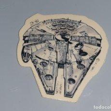 Coleccionismo Cromos antiguos: PANRICO : ANTIGUO CROMO TROQUELADO DE STAR WARS - HALCON MILENARIO - LFL AÑO 1983 RETORNO DEL JEDI. Lote 166816578