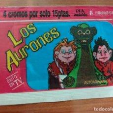 Coleccionismo Cromos antiguos: SOBRE DE CROMOS SIN ABRIR LOS AURONES---MULTILIBRO S.A. Lote 184498622