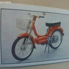 Collectionnisme Cartes à collectionner anciennes: CROMO Nº 188 - DEL ALBUM MOTO 80 EDICIONES ESTE 1977 - CROMO NUEVO SIN PEGAR -. Lote 167512580