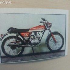 Collectionnisme Cartes à collectionner anciennes: CROMO Nº 109 - DEL ALBUM MOTO 80 EDICIONES ESTE 1977 - CROMO NUEVO SIN PEGAR -. Lote 167514396