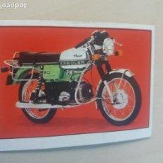 Collectionnisme Cartes à collectionner anciennes: CROMO Nº 104 - DEL ALBUM MOTO 80 EDICIONES ESTE 1977 - CROMO NUEVO SIN PEGAR -. Lote 167514496