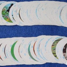 Coleccionismo Cromos antiguos: ALBUM CROMO JUEGO - NUESTROS ANIMALES - INDUSTRIAS GRÁFICAS DOMINGO (1982) ¡CASI COMPLETA!. Lote 168092236