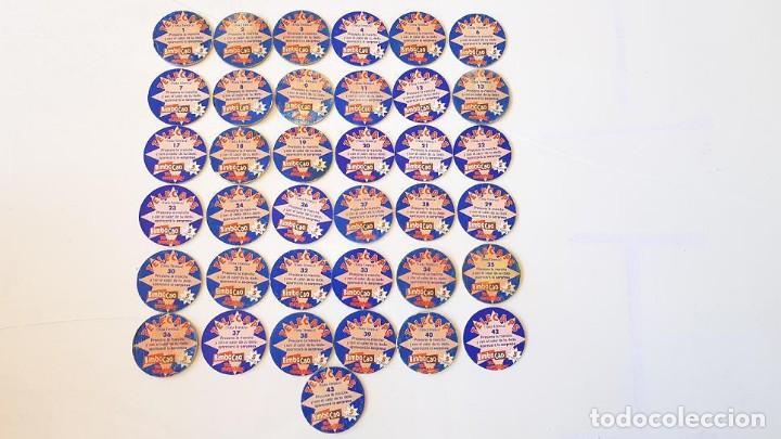 Coleccionismo Cromos antiguos: LOTE 37 CROMOS BIMBOCAO TELECAPS DIFERENTES COLECCIÓN CASI COMPLETA TAZOS - Foto 4 - 168127408