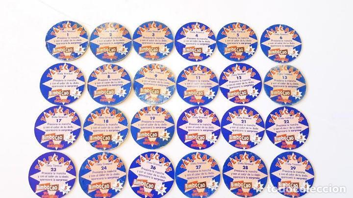 Coleccionismo Cromos antiguos: LOTE 37 CROMOS BIMBOCAO TELECAPS DIFERENTES COLECCIÓN CASI COMPLETA TAZOS - Foto 5 - 168127408