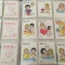 Coleccionismo Cromos antiguos: 65 CROMOS LOVE IS ... ( DE DOS COLECCIONES DISTINTAS DEL AÑO 1990 Y 1995 ) VER FOTOS . Lote 168200360
