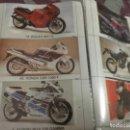 Coleccionismo Cromos antiguos: 135 CROMOS TRIPLES DE TODO MOTO (VER FOTOS ) . Lote 168222248