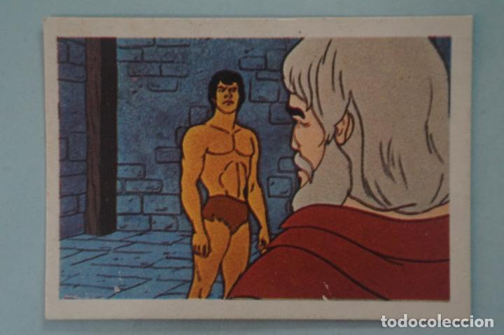 CROMO DE TARZAN DESPEGADO Nº 75 AÑO 1979 DEL ÁLBUM TARZAN DE FHER (Coleccionismo - Cromos y Álbumes - Cromos Antiguos)
