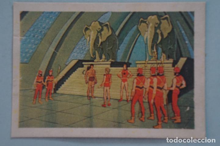 CROMO DE TARZAN DESPEGADO Nº 144 AÑO 1979 DEL ÁLBUM TARZAN DE FHER (Coleccionismo - Cromos y Álbumes - Cromos Antiguos)