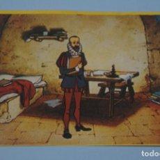 Coleccionismo Cromos antiguos: CROMO DE DON QUIJOTE DE LA MANCHA SIN PEGAR Nº 94 AÑO 1979 DEL ALBUM DON QUIJOTE...... DE DANONE. Lote 245956470