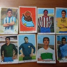 Coleccionismo Cromos antiguos: LOTE 8 CROMOS RUIZ ROMERO 1971 CAMPEONATO NACIONAL DE LIGA. Lote 168403664