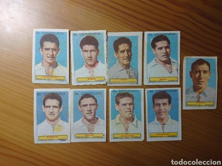 LOTE 9 CROMOS VALENCIA CONDIMENTOS EL LEGIONARIO Y LOS NOVIOS 1953-1954 SIN PEGAR (Coleccionismo - Cromos y Álbumes - Cromos Antiguos)