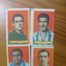 Coleccionismo Cromos antiguos: LOTE 4 CROMOS MALAGA CONDIMENTOS EL LEGIONARIO Y LOS NOVIOS 1953-1954 SIN PEGAR. Lote 168404448