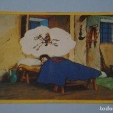 Coleccionismo Cromos antiguos: CROMO DE DON QUIJOTE DE LA MANCHA SIN PEGAR Nº 55 AÑO 1979 DEL ALBUM DON QUIJOTE...... DE DANONE. Lote 184694972
