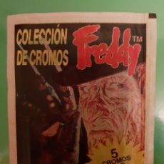 Coleccionismo Cromos antiguos: SOBRE DE CROMOS SIN ABRIR FREDDY ¡¡¡MUY BUEN ESTADO ¡¡¡MUY DIFICIL DE CONSEGUIR!!!. Lote 224326551