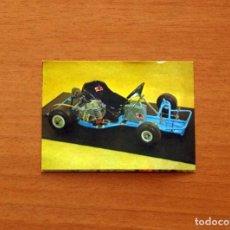 Collectable Antique Stickers - El Mundo del Automovil - Cromo Nº 124 - Álbum Bimbo 1979 - Nunca pegado - 168695380