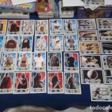 Coleccionismo Cromos antiguos: LOTE 35 CROMOS TOPPS ( STAR WARS ) FORCE ATTAX TRADING CARD GAME CARREFOUR 2016 NUEVOS. Lote 168865836