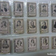 Coleccionismo Cromos antiguos: LOTE DE 75 CROMOS ANTIGUOS. NOBLEZA. . Lote 168922060