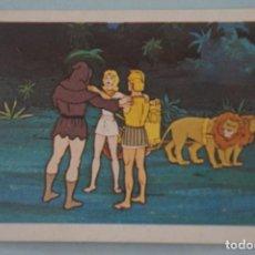 Coleccionismo Cromos antiguos: CROMO DE TARZAN DESPEGADO Nº 34 AÑO 1979 DEL ÁLBUM TARZAN DE FHER. Lote 169263840