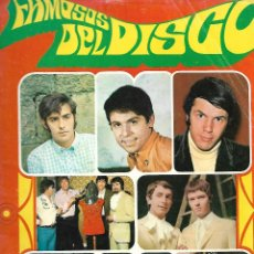 Coleccionismo Cromos antiguos: FAMOSOS DEL DISCO . Lote 169910160
