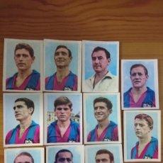 Coleccionismo Cromos antiguos: SIN PEGAR - LOTE 11 CROMOS LEVANTE - OBSEQUIO FABRICA DE TABACOS FEDORA 1964 CIGARRILLOS. Lote 167148421