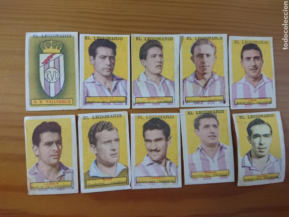 LOTE 10 CROMOS VALLADOLID CONDIMENTOS EL LEGIONARIO Y LOS NOVIOS 1953-1954 SIN PEGAR (Coleccionismo - Cromos y Álbumes - Cromos Antiguos)