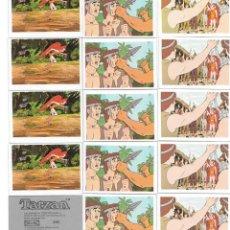 Coleccionismo Cromos antiguos: IÑI LOTE 15 CROMOS. TARZÁN. PANRICO. FHER. GAMMA.. Lote 170232580