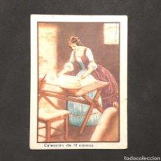 Coleccionismo Cromos antiguos: (C-22) CROMO CHOCOLATE TORRAS - PIEL DE ASNO. N°IX. Lote 170462378
