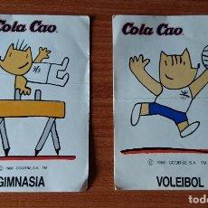 Coleccionismo Cromos antiguos: CROMOS PEGATINAS COLA CAO. Lote 171184667