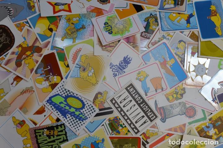 LOTE DE 89 CROMOS DE LOS SIMPSONS COLECCIÓN PANINI 1999 (Coleccionismo - Cromos y Álbumes - Cromos Antiguos)
