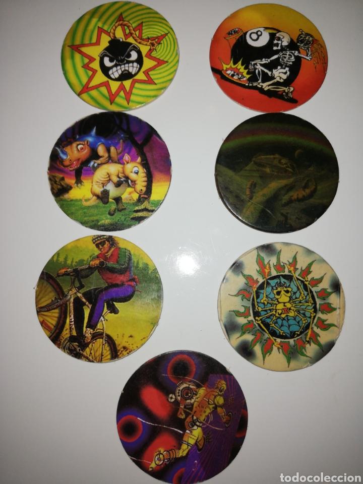 POGS DE SYCH TAZOS (Coleccionismo - Cromos y Álbumes - Cromos Antiguos)