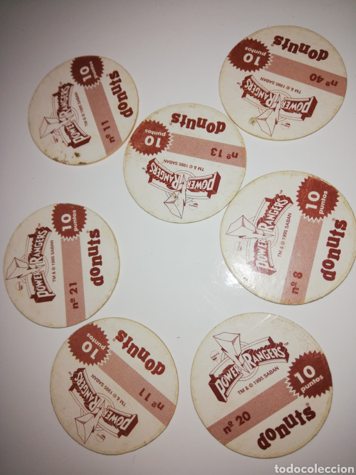 Coleccionismo Cromos antiguos: Tazo donuts 1995 - Foto 2 - 171367162