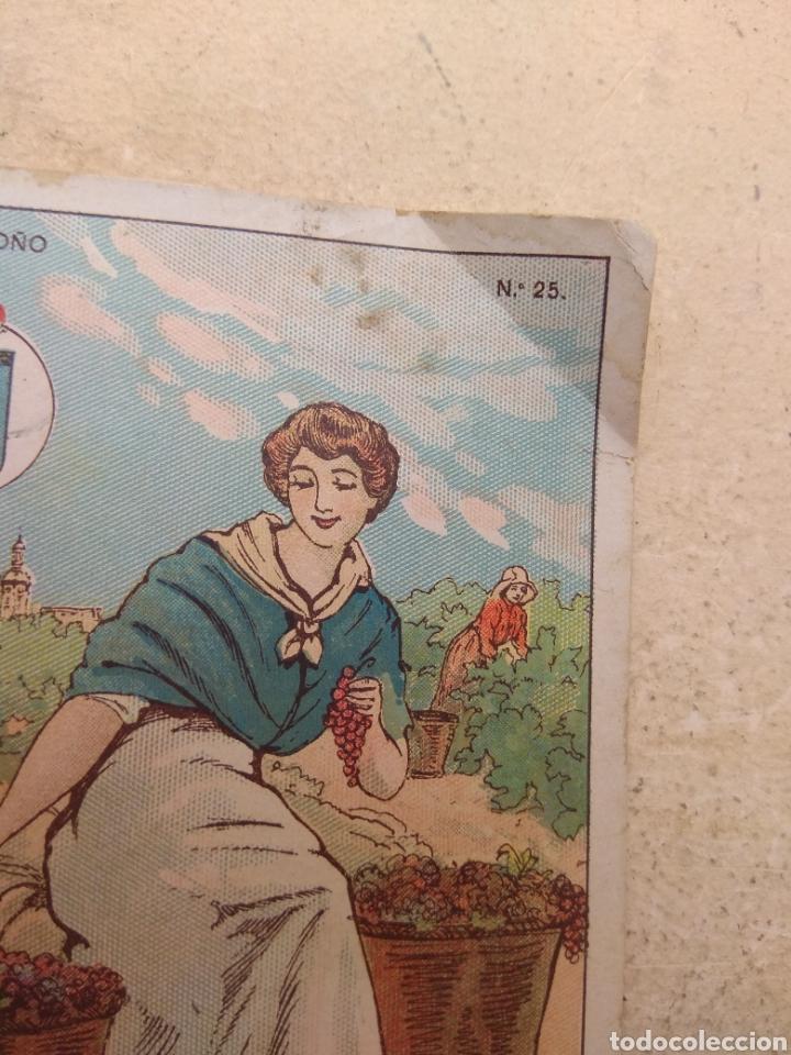 Coleccionismo Cromos antiguos: Cromo Tipos Regionales N°25 Logroño - Vale 25 Puntos Librería Escolar - Valencia - - Foto 3 - 171463499