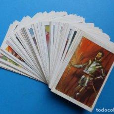 Coleccionismo Cromos antiguos: DON QUIJOTE DE LA MANCHA - ILUSTRADOS POR SEGRELLES - CHOCOLATE AMATLLER - COMPLETA 80 CROMOS. Lote 171665964
