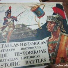 Coleccionismo Cromos antiguos: LOTE 24 CROMOS SUELTOS DEL ALBUM BATALLAS HISTORICAS - RESERVADO. Lote 25070395