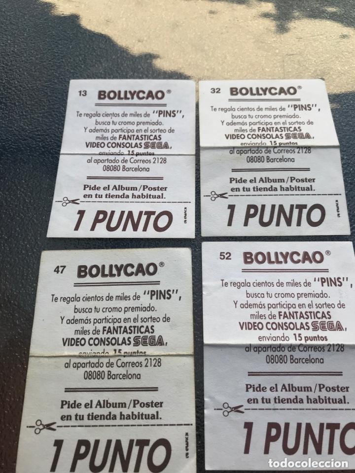 Coleccionismo Cromos antiguos: Bollycao mega drive números 13,32,47 y 52 - Foto 2 - 172577613