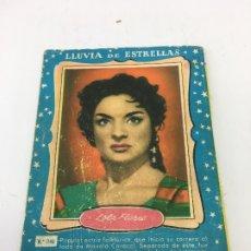 Coleccionismo Cromos antiguos: LOLA FLORES, COLECCION LLUVIA DE ESTRELLAS Nº1140. Lote 172580527
