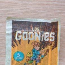 Coleccionismo Cromos antiguos: SOBRE CROMOS LOS GOONIES PACOSA DOS. Lote 172789380