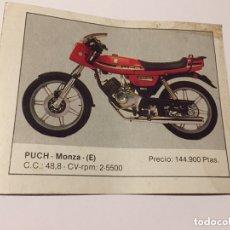 Coleccionismo Cromos antiguos: CROMO PUCH MONZA (E). Lote 173062943