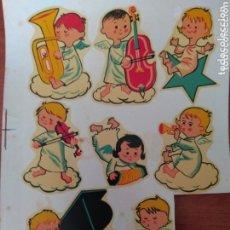 Coleccionismo Cromos antiguos: CALCAMONIAS ORTEGA ( MUY RARA ) SERIE INFANTIL - A - NÚM.66 ANGELITOS DEL AÑO 1963. Lote 173652119